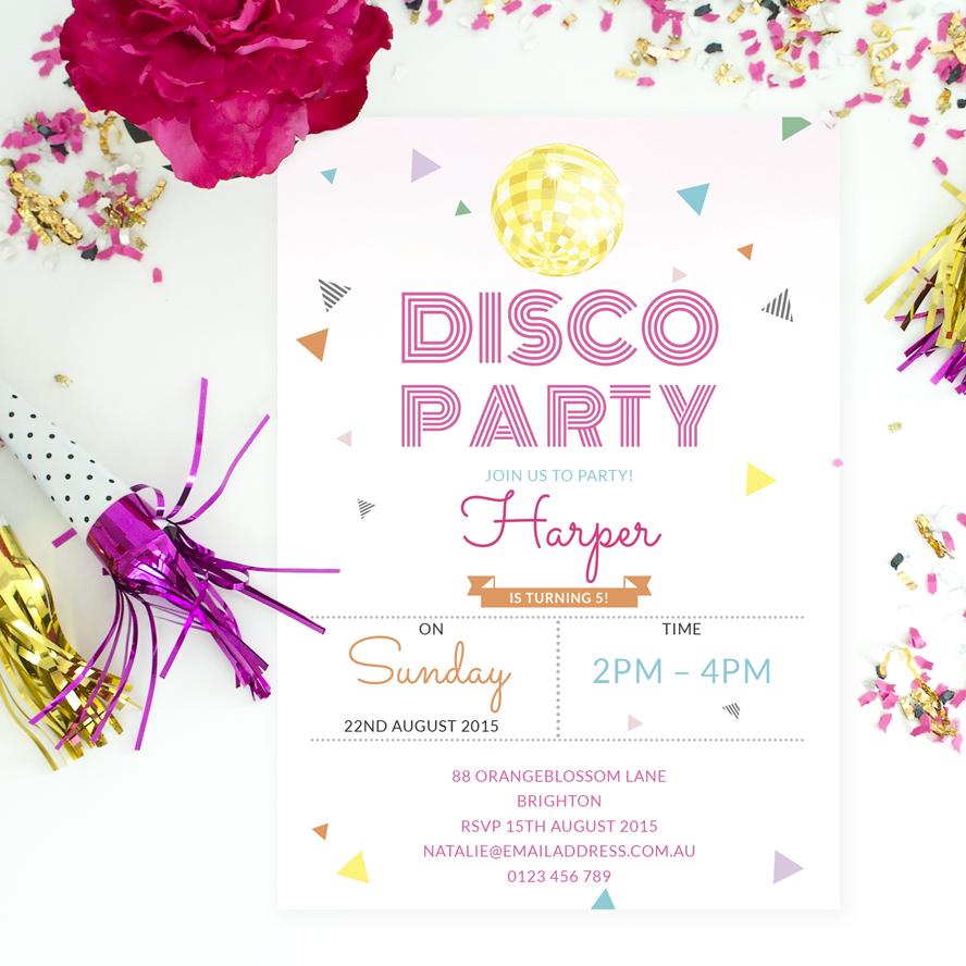 Spa & Pamper Party Invitation | Love JK