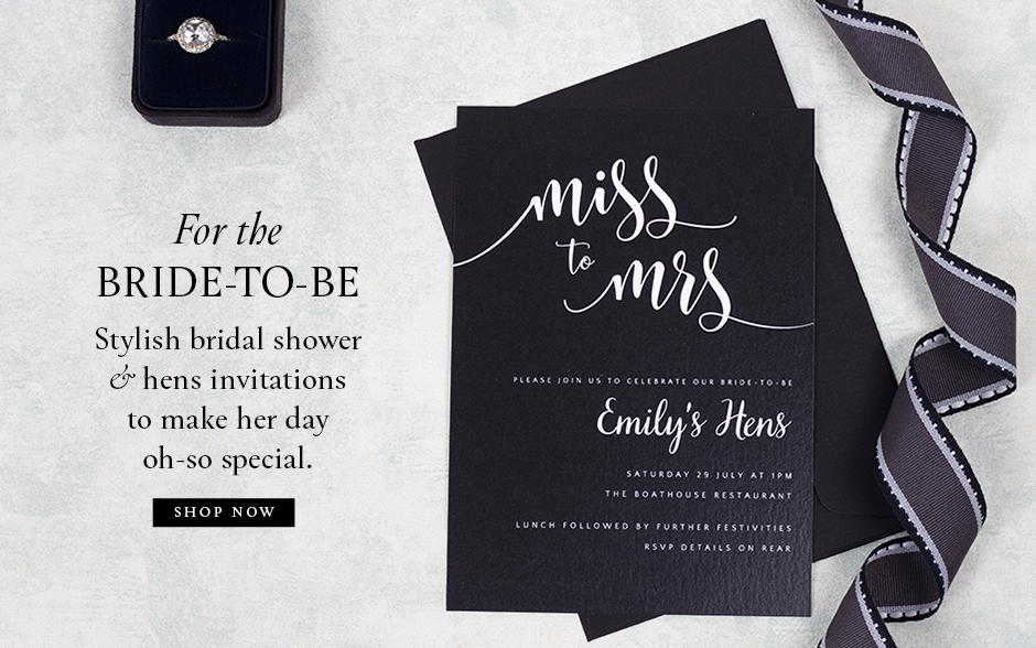 Bridal Shower & Hens Day Invitations