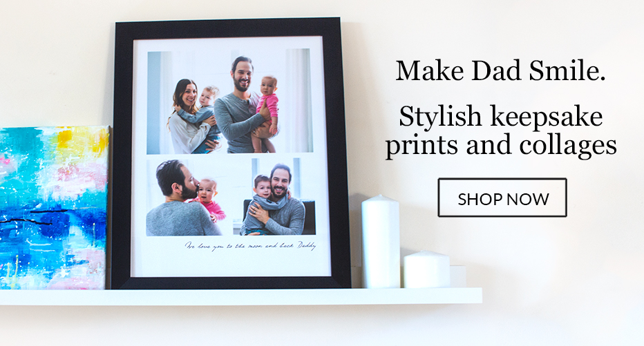 Father's Day Photo Blocks
