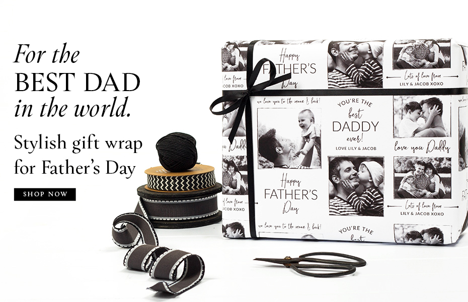 Father's Day Photo Gift Wrap