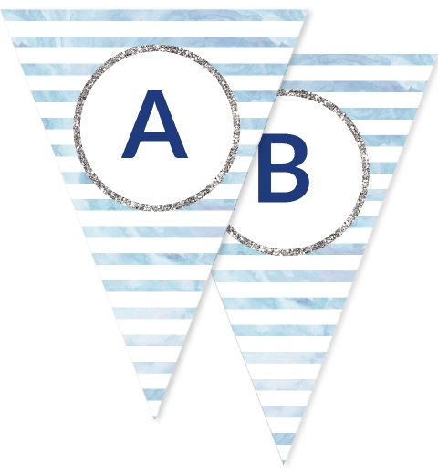 Oh Baby Blue Bunting