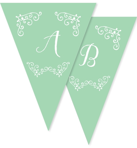 Sweet & Swirly Christmas Bunting