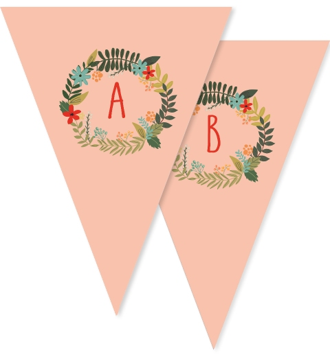 Wreath Christmas Bunting