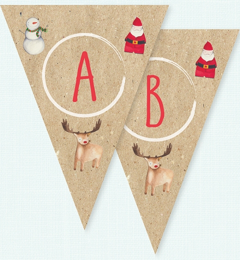 Christmas Crew by Tori Benz Bunting