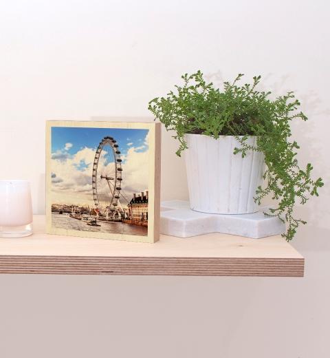 15cm x 15cm Print on Wood