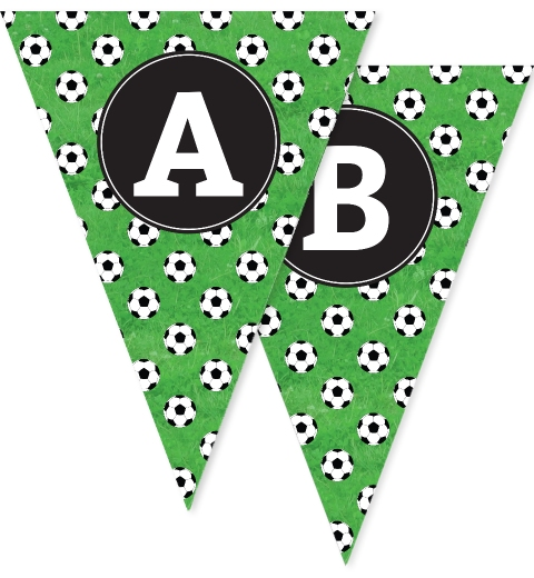 Soccer Party Bunting