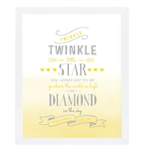 Twinkle Twinkle Little Star in Lemon