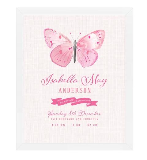 Butterfly Birth Print