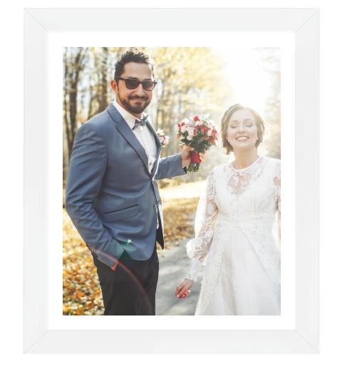 Portrait Photo Print - Small Border
