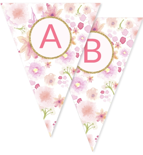 Sweet Florals Bunting