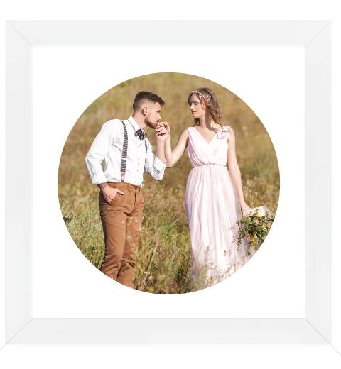 Circle Photo Print