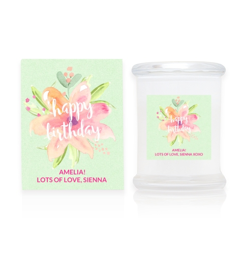 Front of Candle & Box