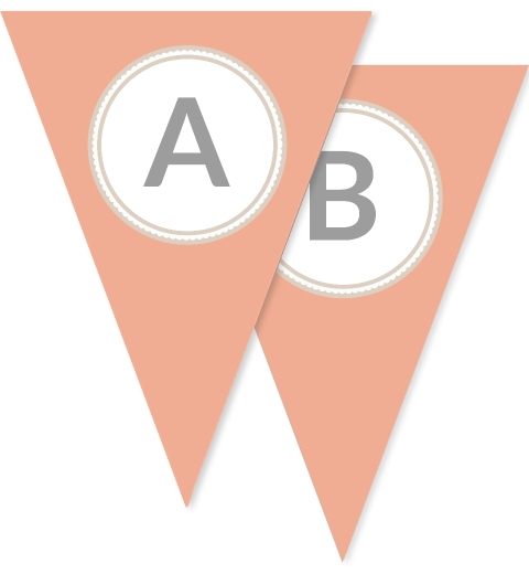 Peach Dolly Bunting