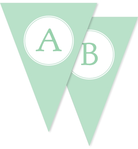 Sweet & Simple Baptism Mint Bunting