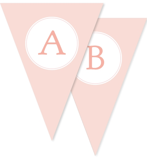 Sweet & Simple Baptism Peach Bunting