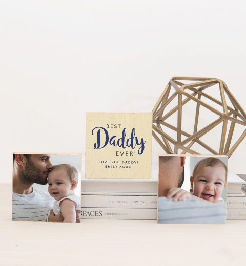 Best Daddy Ever Photo Blocks