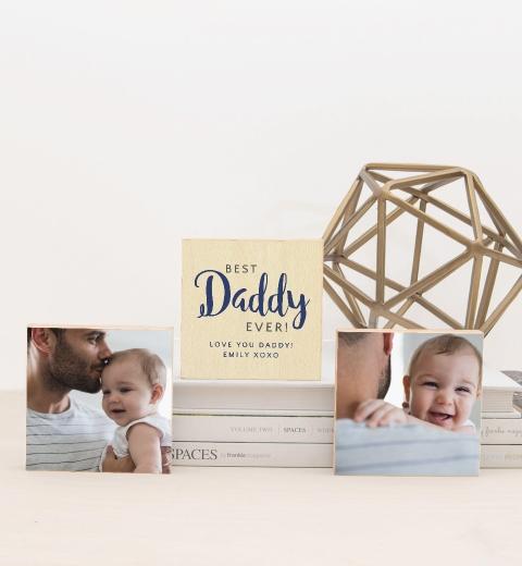 Best Daddy Ever Photo Blocks
