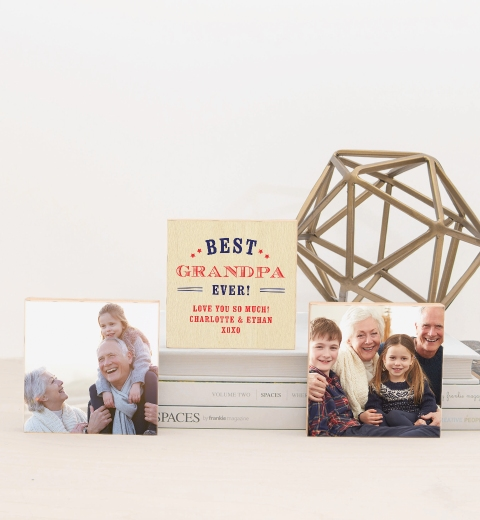 Best Grandad Ever Photo Blocks