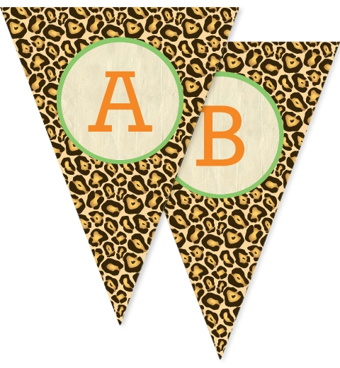 Kids Safari Bunting