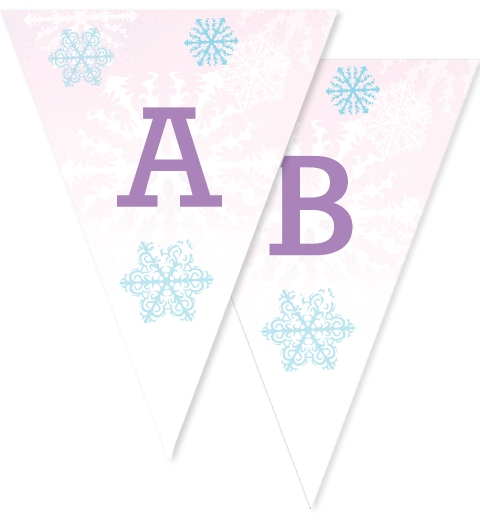 Ice Skating Bunting Flags