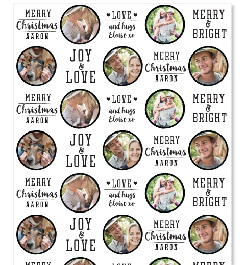Joy & Love Wrapping Paper
