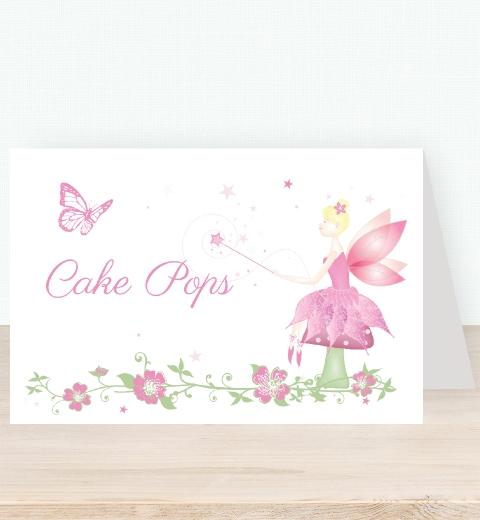 Fairy Tent Card