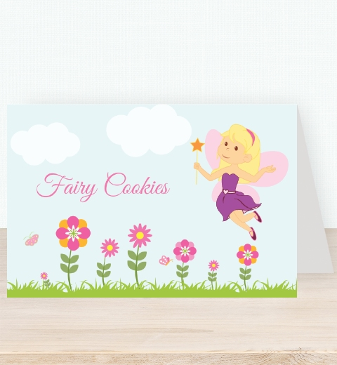 Garden Fairy Tent Card