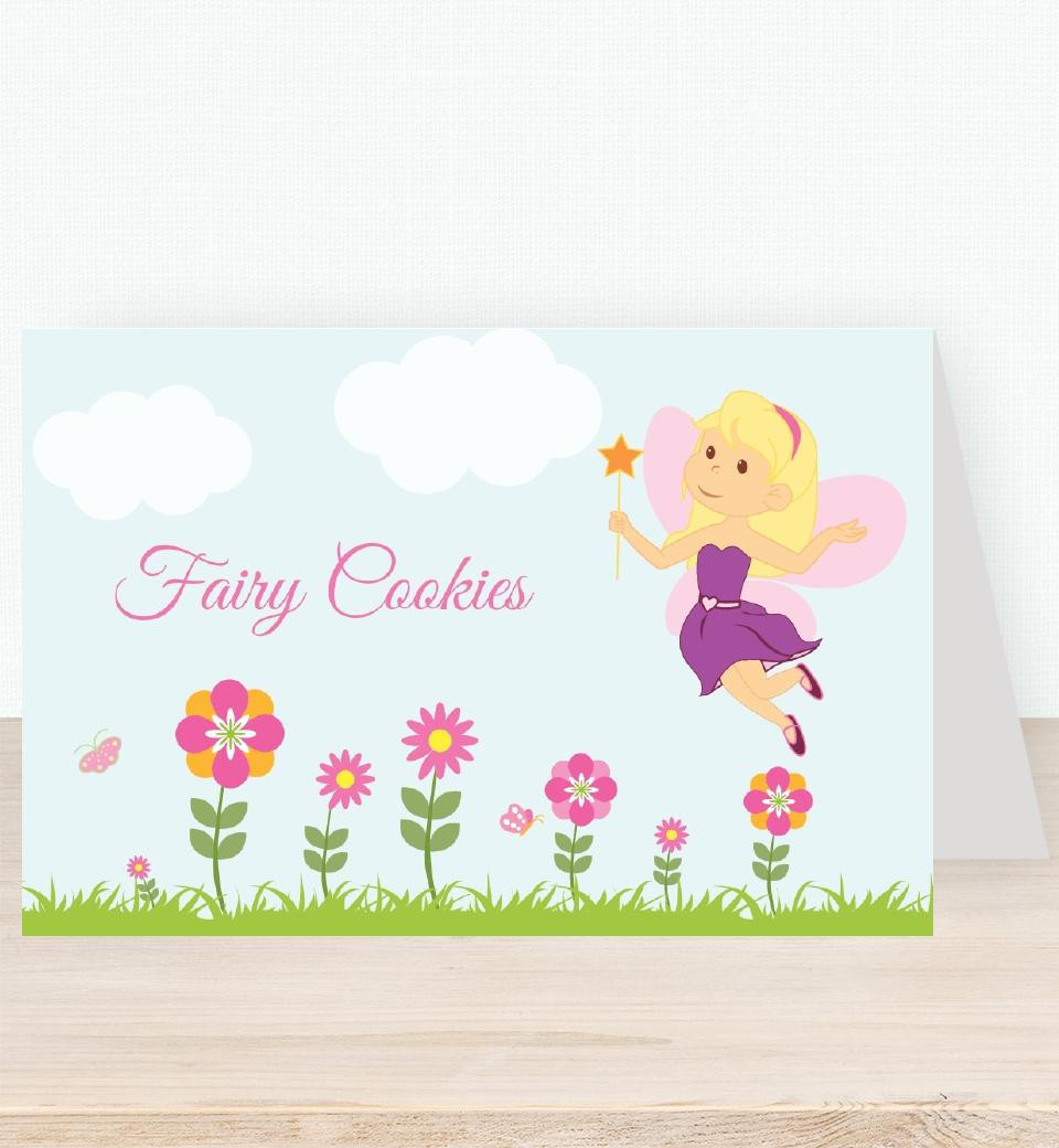 Garden Fairy Tent Card & Garden Fairy Tent Card | Love JK