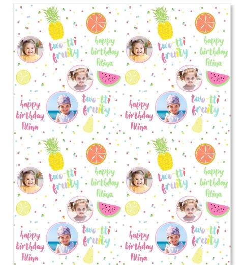 Tutti Fruitti Wrapping Paper