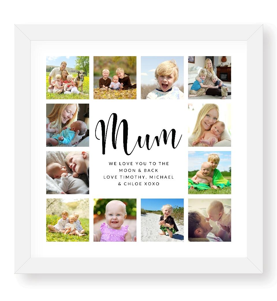 Mum Photo Collage Love Jk