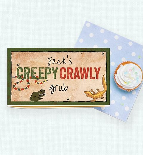 Creepy Crawly Lunch Box
