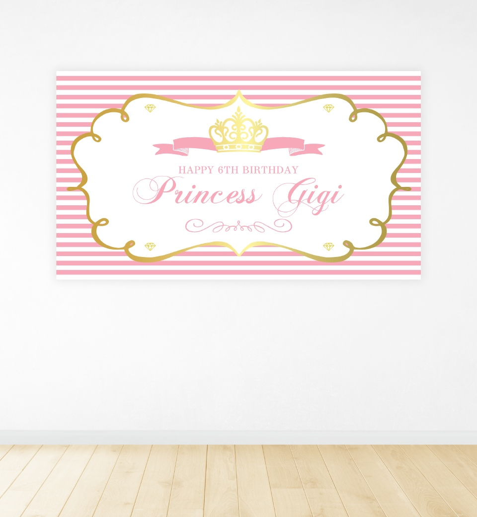 Princess Party Backdrop
