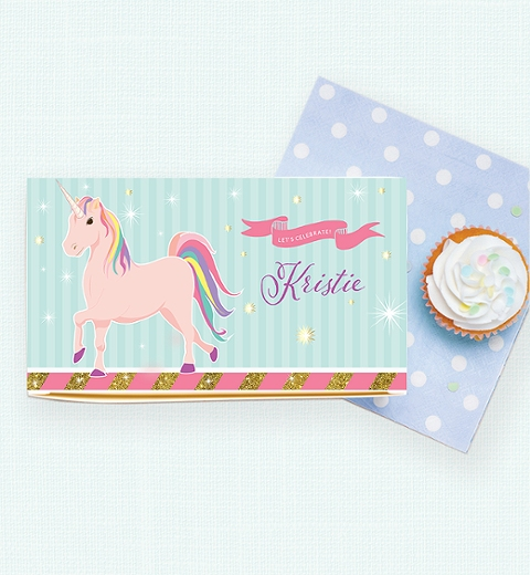 Unicorn Party Lunch Box