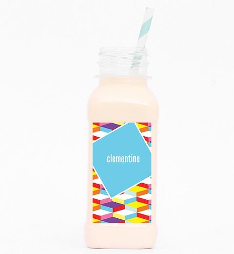 Geometric Dance Party Drink Bottle