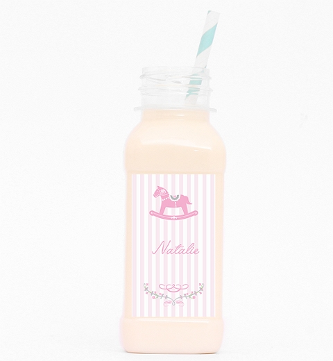 Rocking Horse Pink Drink Bottle