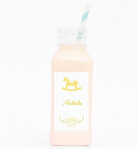 Rocking Horse Yellow Drink Bottle