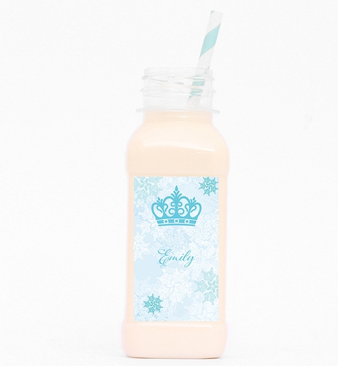 Snowflake Drink Bottle Inspired by Frozen