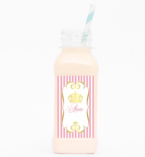 Princess Party Juice Bottle