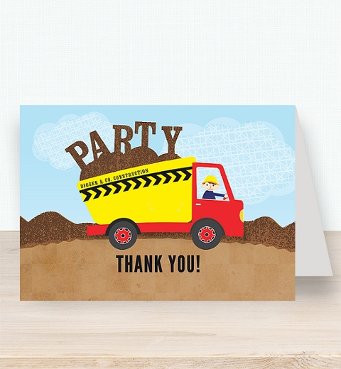 Construction Thank-you Card