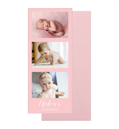 Front & Baby Pink Envelope