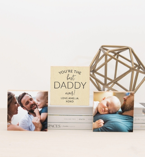 You're The Best Daddy Ever Photo Blocks
