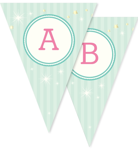 Unicorn Party Bunting Flags