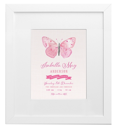 Butterfly Birth Print
