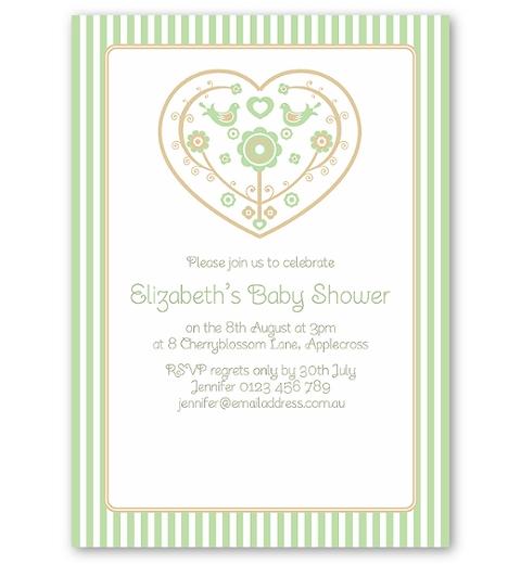 Skandi Birdies Baby Shower ~ Unisex
