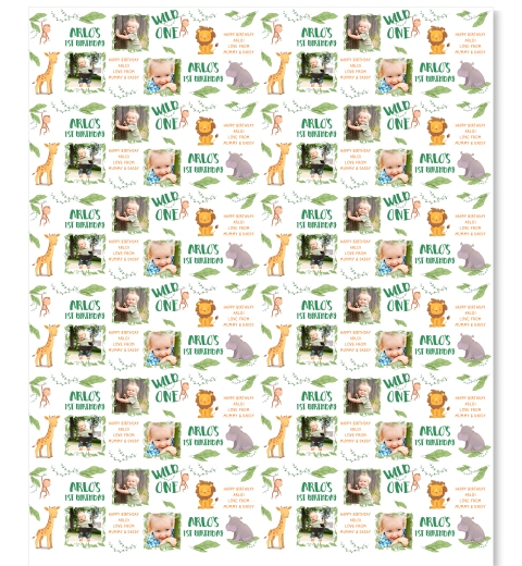 Wild One Photo Wrapping Paper