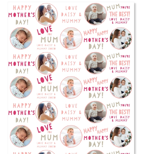 Too Cute Mother's Day Wrap