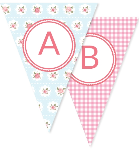 Strawberry Floral Bunting