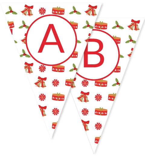 Traditional Christmas Bunting