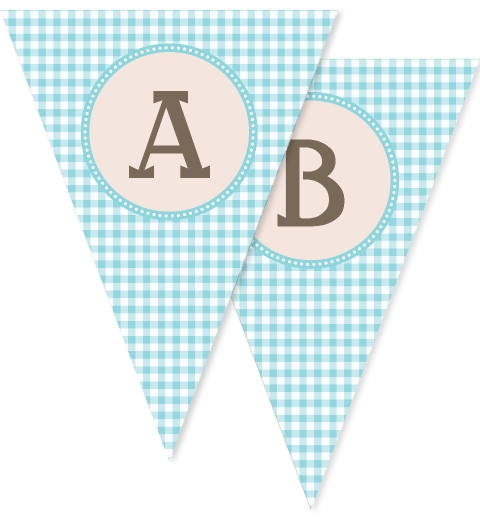 Vintage Pony Party Bunting