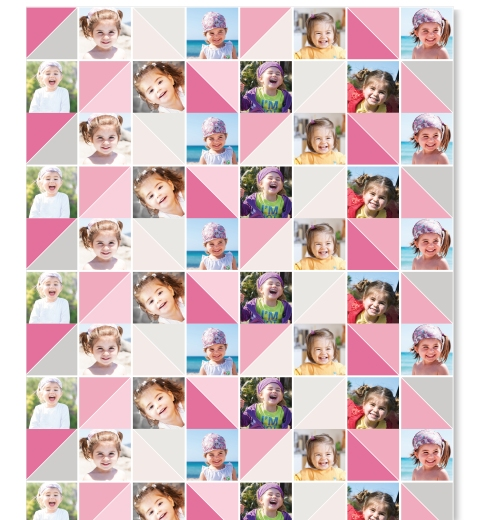 Pink & Grey Wrapping Paper